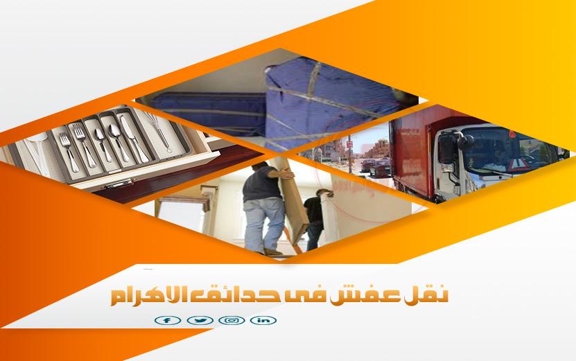صورة شركات نقل اثاث بحدائق الاهرام